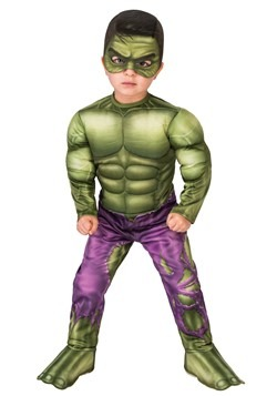 Incredible Hulk Deluxe Toddler Costume