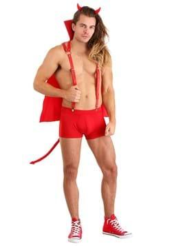 Men's Flaming Devil Costume