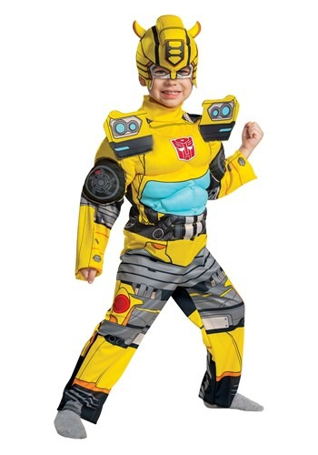 Transformers Toddler Muscle Bumblebee Costume