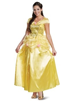 Beauty & The Beast Adult Deluxe Classic Belle Costume