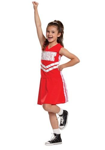 High School Musical Girl's Cheerleader Costume