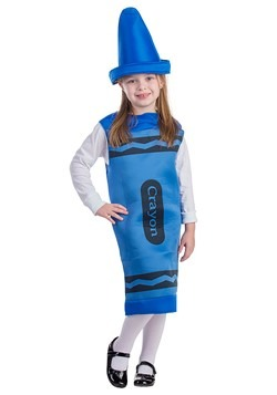 Toddler Blue Crayon Costume