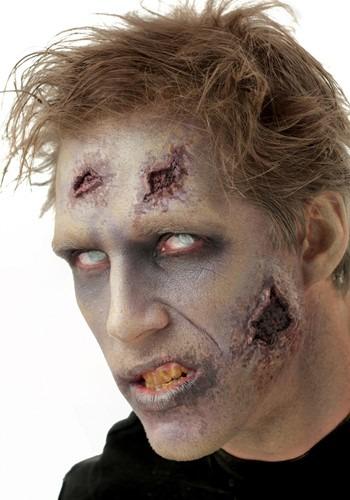 Night Stalker Zombie Latex Applique