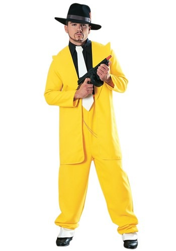 Adult Yellow Zoot Suit Costume