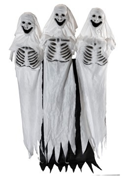6' Animatronic Ghostly Trio Decoration