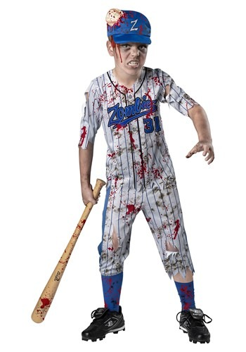 Boy's Home Run Horror Costume