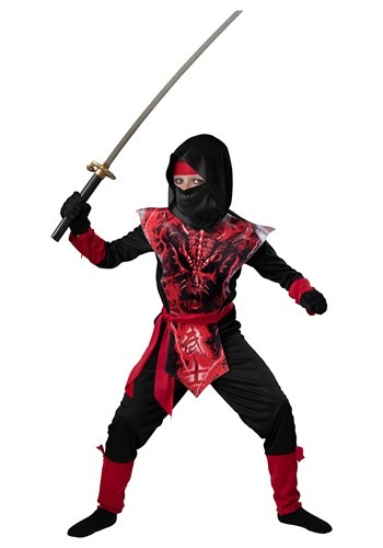Boys Death Skeleton Knight Costume