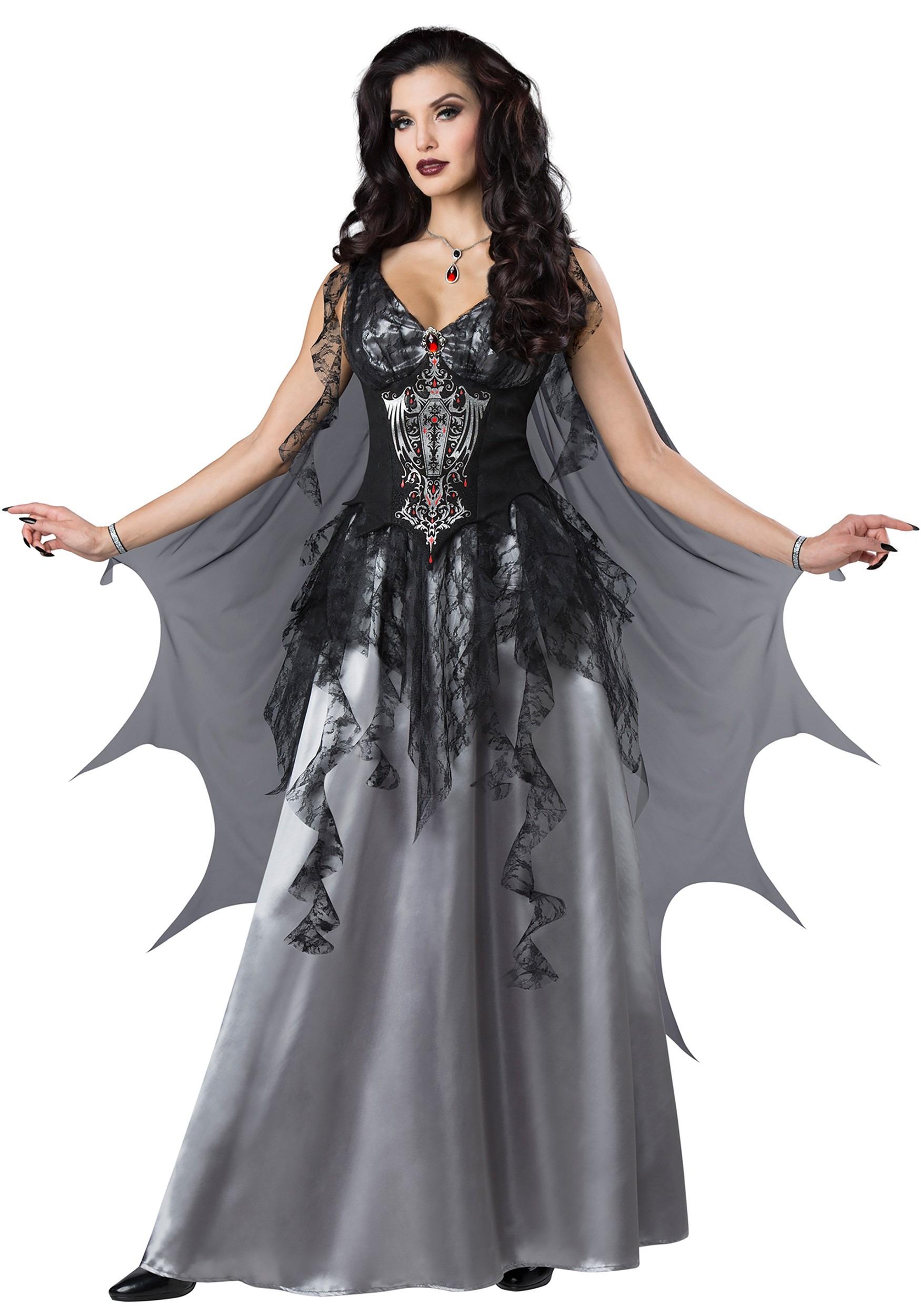 Dark Vampire Countess Women's Costume