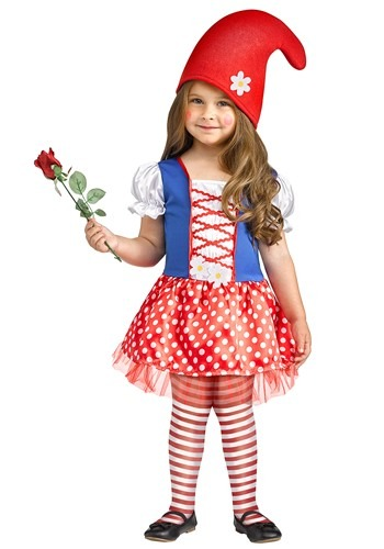 Toddler Lil Miss Gnome Costume