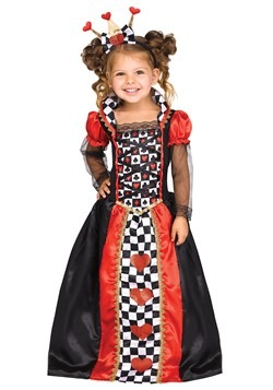 Toddler Queen of Hearts