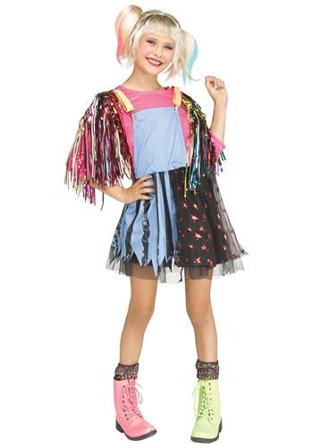 Girls Roller Derby Rascal Costume