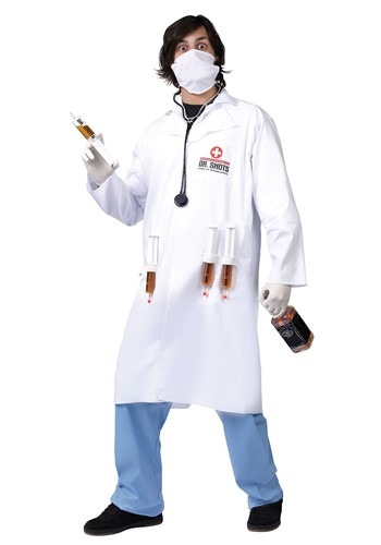 Adult Dr Shots Costume