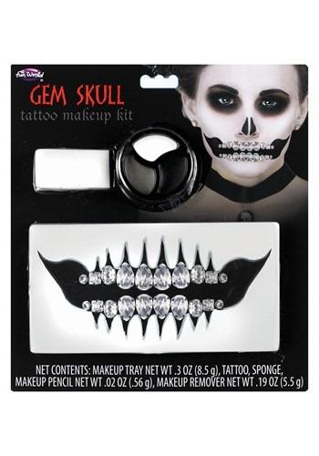 Gem Skull Makeup Kit