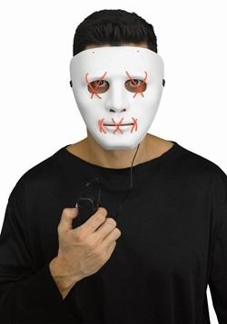 Red Light Up Stitch Mask