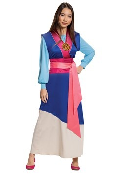 Mulan Women's Blue Dress Costume