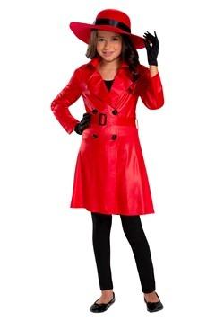 Girl's Mystery Agent Costume