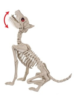 Howling Bonez Animated Dog Skeleton