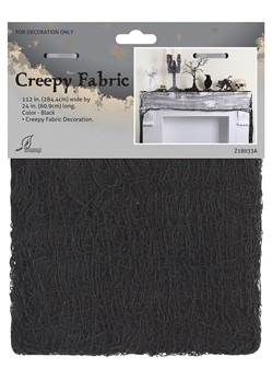 Black Creepy Fabric Décor