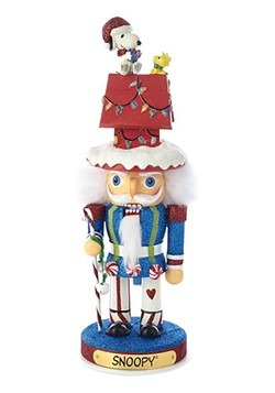 Peanuts Hollywood Snoopy & Dog House Nutcracker