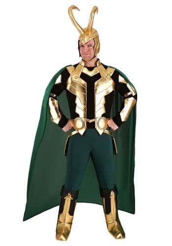 Marvel Loki Men's Plus Size Premium Costume