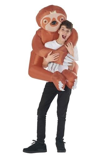 Kid's Inflatable Sloth Hugger Mugger Costume