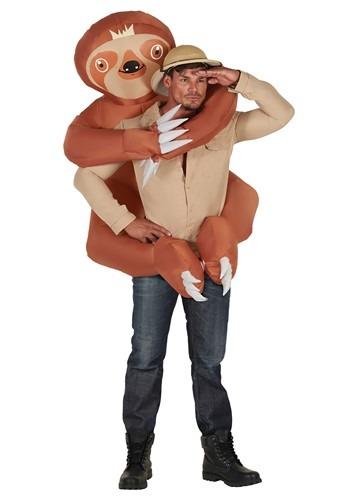 Adult Inflatable Sloth Hugger Mugger Costume