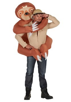 Adult Inflatable Sloth Hugger Mugger Costume