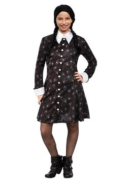 Addams Family Wednesday Girls Costume