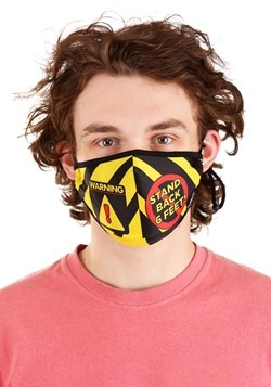 Stand Back Protective Fabric Face Covering Mask