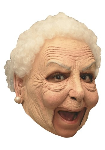 Deluxe Old Women Mask