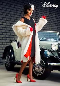 Womens Deluxe Cruella De Vil Costume