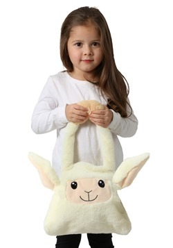 Moving Ears Sheep Plush Trick or Treat Bag