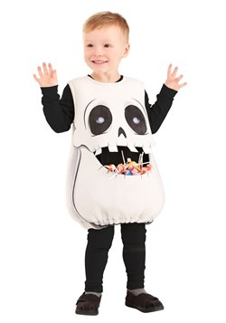 Child Feed Me Skeleton Costume