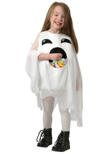 Child Feed Me Ghost Costume
