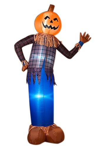 """96""""H Electric Inflatable Halloween Scarecrow"""