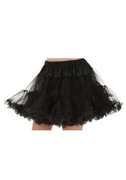 Adult Black Petticoat
