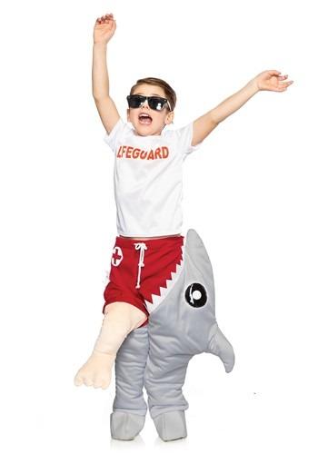 Child's Life Guard & Shark Attack Costume