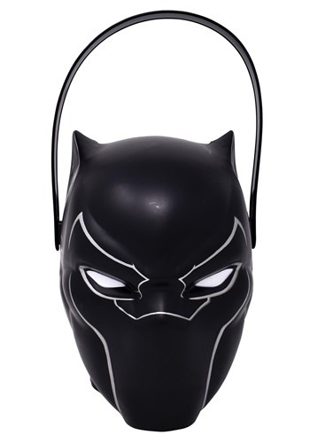 Black Panther Plastic Trick or Treat Pail