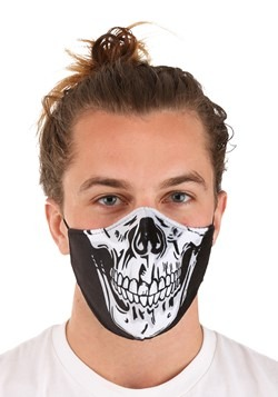 Adult Skeleton Sublimated Face Mask