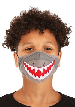Child Shark Sublimated Face Mask