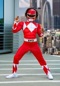 Power Rangers Boys Red Ranger Costume