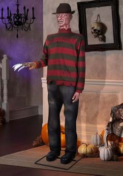 Halloween Life Size Animated Freddy Prop