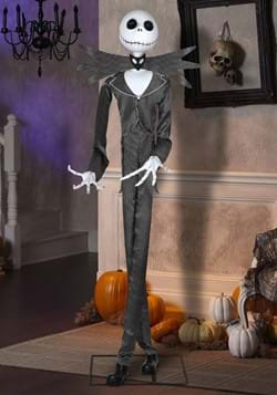 Nightmare Before Christmas Animated Life Size Jack Skellingt