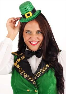 Sequin Mini Leprechaun Hat Headband