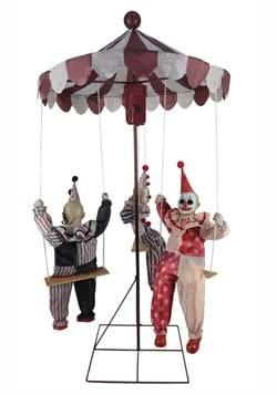 72 Inch Clown-Go-Round Animatronic Prop
