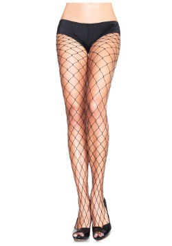 Plus Size Fence Net Pantyhose