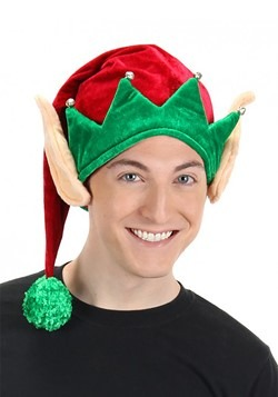 Elf Plush Hat with Ears