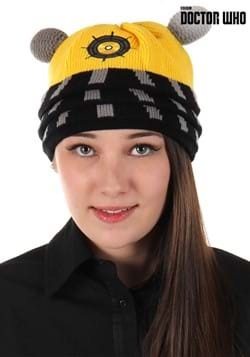 Dalek Knit Beanie Yellow