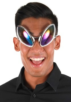 Close Encounter Glasses Silver/Rainbow
