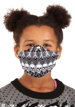 Child Skeleton Pattern Sublimated Face Mask